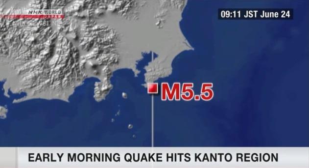 Động đất mạnh tại Nhật Bản và Indonesia