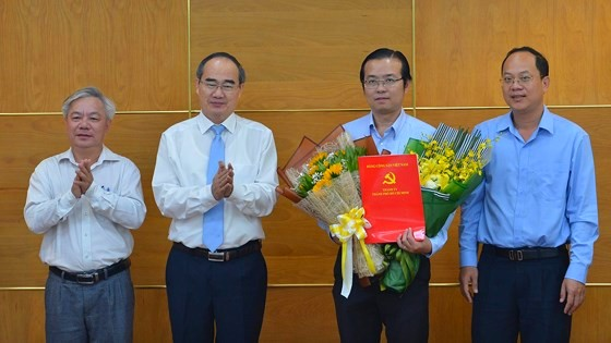 Đồng chí Lê Văn Minh giữ chức Phó trưởng Ban Tuyên giáo Thành ủy TP Hồ Chí Minh