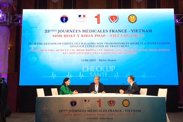 Hợp tác Pháp - Việt trong quản lý bệnh không lây nhiễm