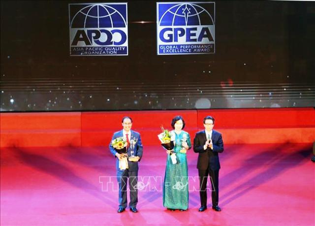 Tặng Giải Vàng Chất lượng Quốc gia cho 22 doanh nghiệp