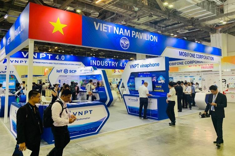 VNPT trình diễn nhiều sản phẩm, giải pháp công nghệ mới tại Triển lãm Connect Tech Asia 2019