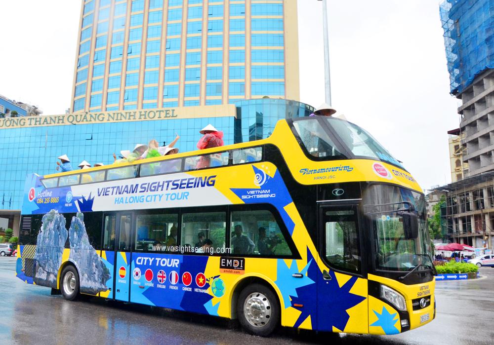 Quảng Ninh: Đưa xe buýt 2 tầng vào phục vụ khách du lịch