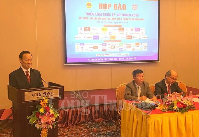 Gần 800 đơn vị tham dự Triển lãm quốc tế Vietbuild TP. Hồ Chí Minh 2019