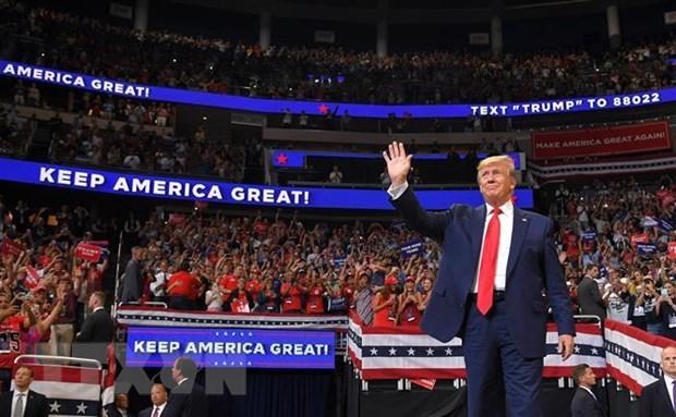 Tổng thống Mỹ Donald Trump bắt đầu chiến dịch vận động tái tranh cử