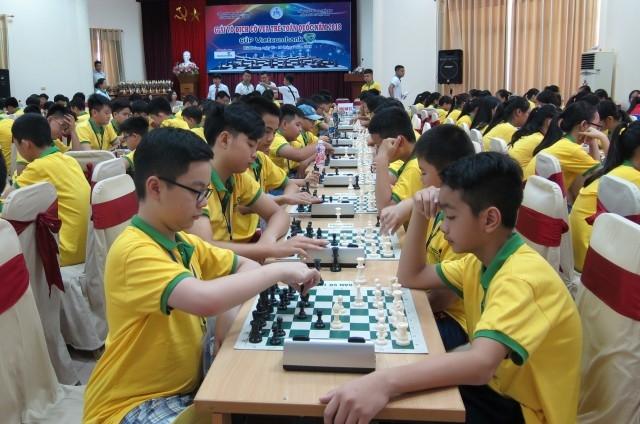Gần 1.300 kỳ thủ tham gia Giải vô địch cờ vua trẻ toàn quốc 2019