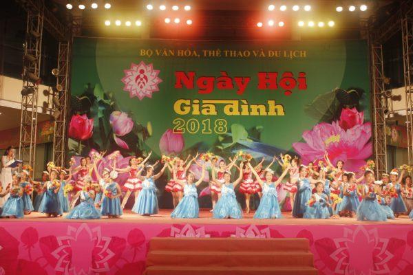 Nhiều hoạt động tại Ngày hội Gia đình Việt Nam năm 2019