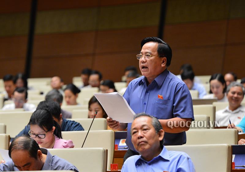 Quốc hội thảo luận về dự án Luật Lực lượng dự bị động viên