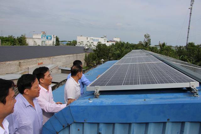 Đồng Tháp nhân rộng mô hình điện năng lượng mặt trời