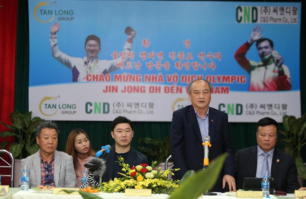 Giải bắn súng mang tên tượng đài thế giới Jin Jong Oh