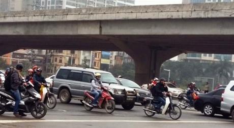 Mức phạt đối với hành vi chạy quá tốc độ tối đa cho phép trên đường cao tốc