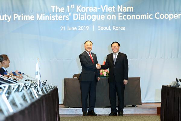 Việt Nam - Hàn Quốc đạt nhiều thỏa thuận trong đối thoại kinh tế lần thứ nhất