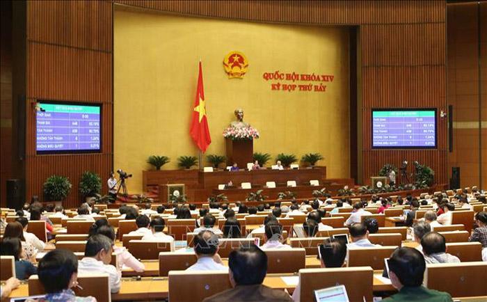 Thông cáo số 18 Kỳ họp thứ 7, Quốc hội khóa XIV