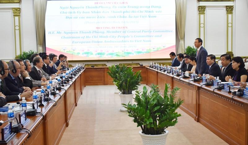 Thúc đẩy hợp tác song phương TP. Hồ Chí Minh -  EU