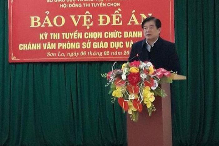 Cách chức tất cả các chức vụ trong Đảng đối với Giám đốc Sở Giáo dục và Đào tạo tỉnh Sơn La