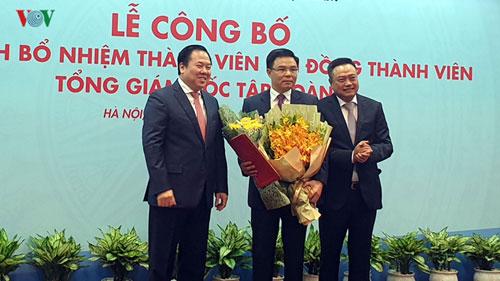 Tập đoàn Dầu khí Quốc gia Việt Nam có Tổng Giám đốc mới quê Hưng Yên