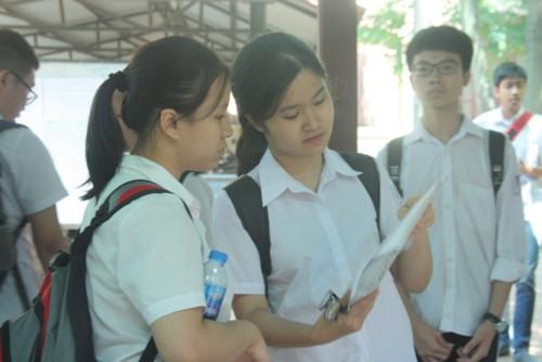 Hà Nội công bố điểm thi vào lớp 10: Thủ khoa 56,75 điểm