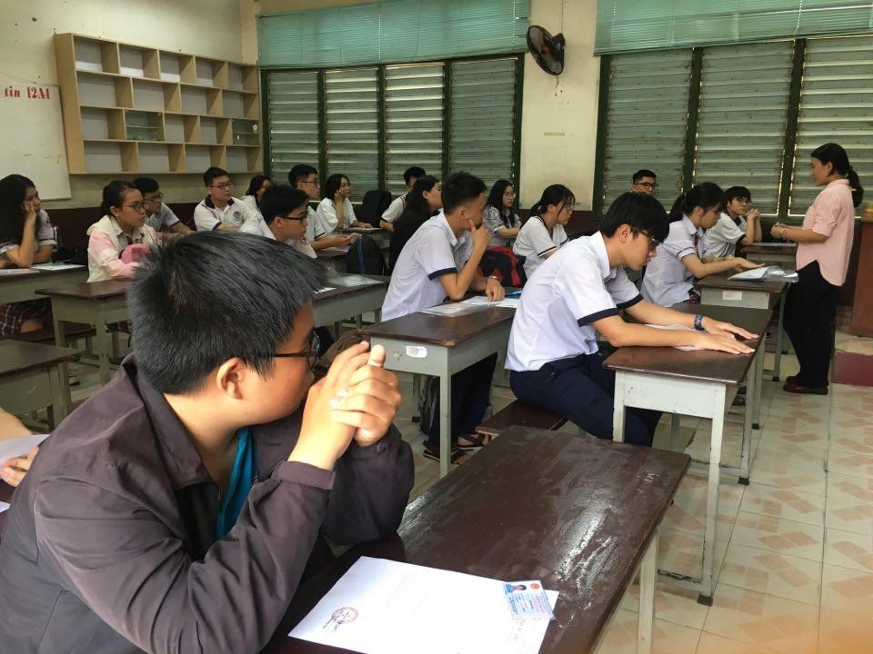 Hơn 71.000 thí sinh tại TP Hồ Chí Minh bước vào kỳ thi THPT quốc gia 2019