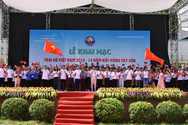 150 đại biểu kiều bào trẻ tham dự Trại hè Việt Nam 2019