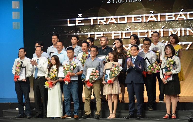 Trao giải báo chí TP Hồ Chí Minh lần thứ 37 cho 66 tác phẩm xuất sắc