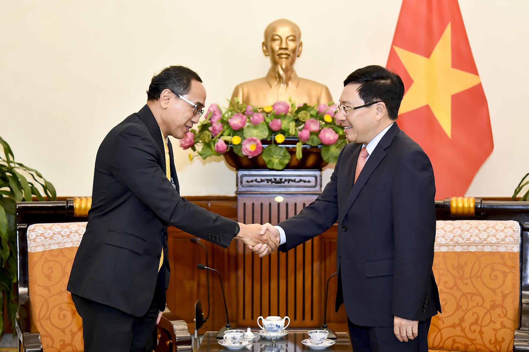 Tiếp tục triển khai các cơ chế hợp tác Việt Nam - Thái Lan
