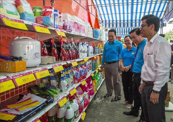 Nhiều hoạt động ý nghĩa tại Ngày hội Công nhân lao động tỉnh Kiên Giang