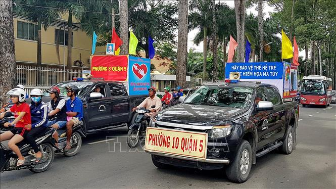 TP. Hồ Chí Minh đẩy mạnh phòng, chống ma túy