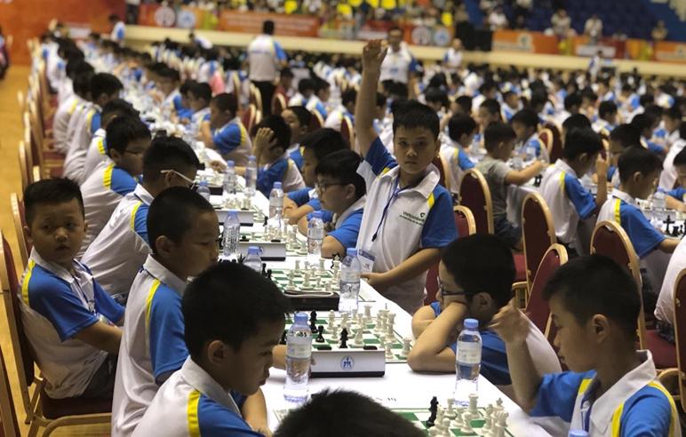 Giải cờ vua trẻ toàn quốc 2019 thu hút gần 1300 vận động viên