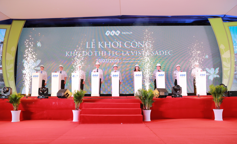 Tập đoàn FLC khởi công xây dựng đô thị cao cấp La Vista Sadec