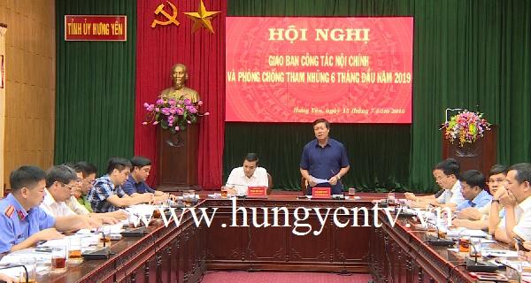 Tăng cường giữ gìn an ninh chính trị chuẩn bị cho Đại hội Đảng các cấp ở Hưng Yên