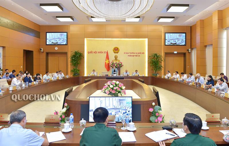 UBTVQH tán thành thành lập hai phường ở tỉnh Nam Định và một thị trấn ở tỉnh Kon Tum