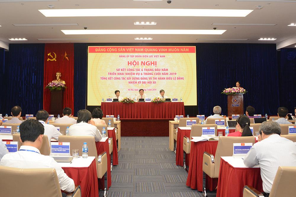 Năng lực lãnh đạo, sức chiến đấu của Đảng ủy EVN được khẳng định và nâng cao