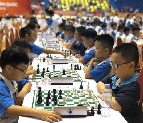 TP Hồ Chí Minh nhất toàn đoàn Giải vô địch Cờ vua trẻ toàn quốc tranh Cúp Vietcombank 2019