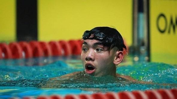 Huy Hoàng trở thành VĐV bơi Việt Nam đầu tiên giành vé dự Olympic 2020