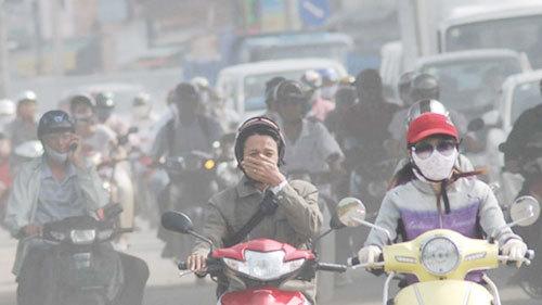 Ô nhiễm không khí với sức khỏe của con người