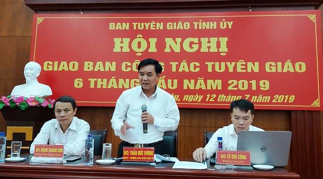 Lai Châu triển khai thực hiện tốt nhiệm vụ công tác Tuyên giáo