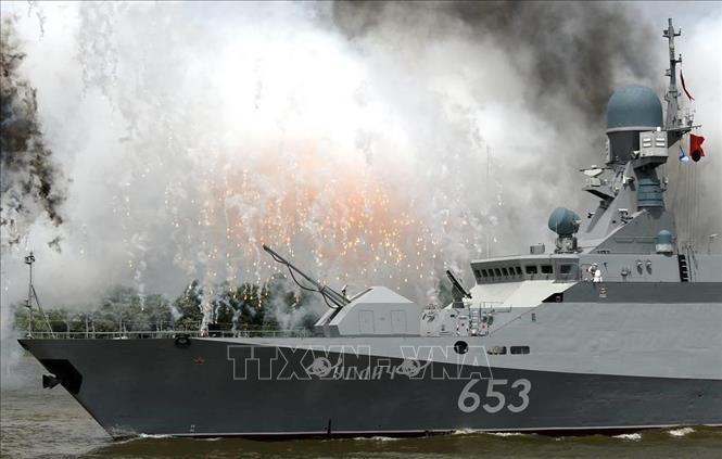 Nga xác nhận tàu hộ tống tên lửa đi vào Địa Trung Hải