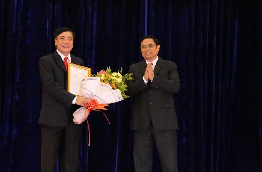 Đồng chí Bùi Văn Cường giữ chức Bí thư Tỉnh ủy Đắk Lắk