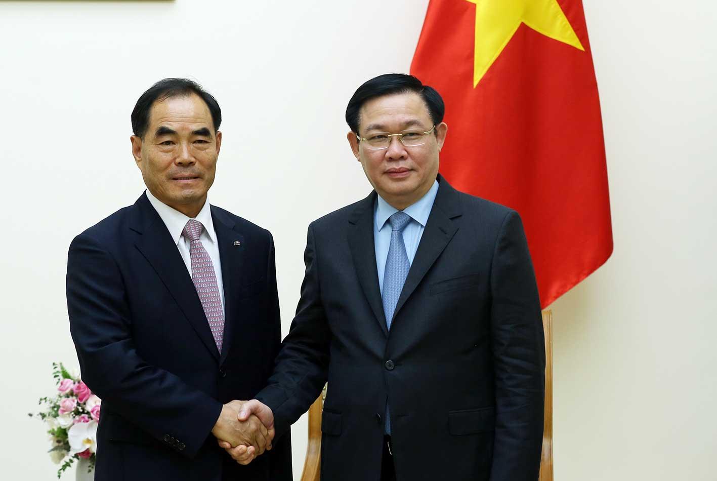 Mong muốn KRC Hàn Quốc phát triển các dự án nông nghiệp thông minh ở Việt Nam
