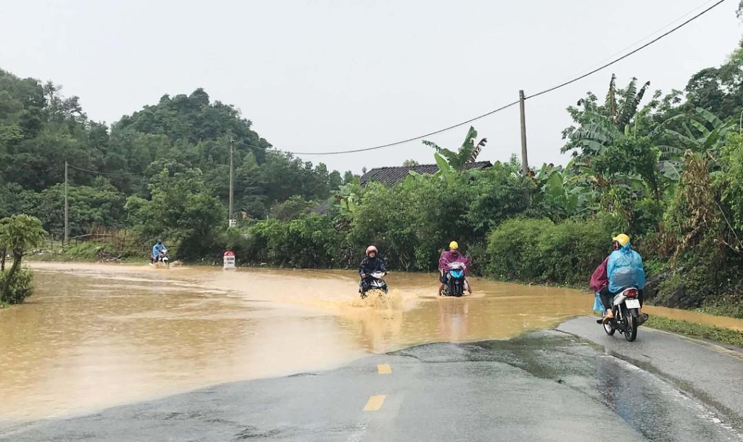 Cao Bằng: Mưa lớn gây ngập hơn 900 nhà dân, 1.000 ha lúa và hoa màu