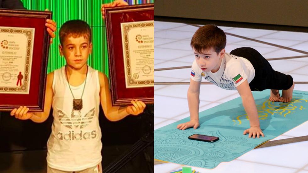 Cậu bé lập kỷ lục thế giới với số lần chống đẩy được 4.618 cái