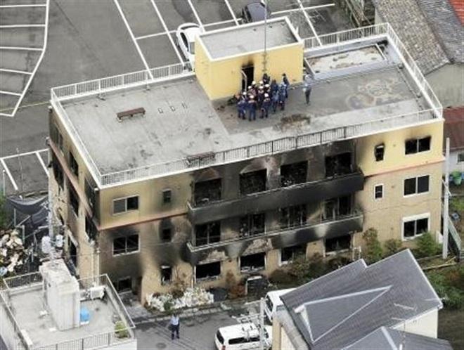 Tiết lộ nguyên nhân vụ cháy xưởng phim ở Nhật Bản