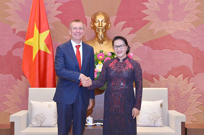 Lát-vi-a là bạn hàng lớn nhất của Việt Nam trong 3 nước Baltic