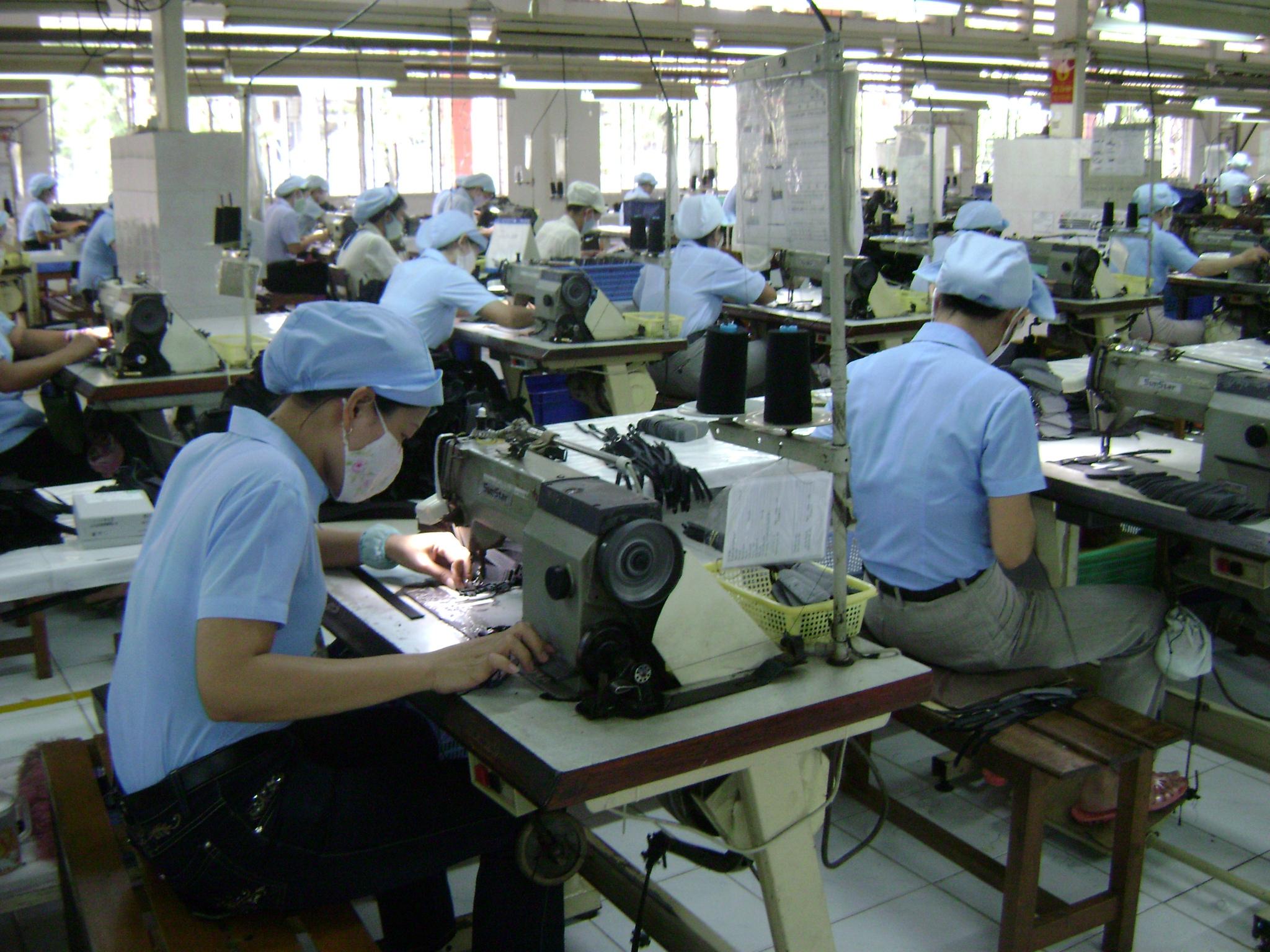 6 tháng, kim ngạch dệt may xuất khẩu đạt gần 18 tỷ USD