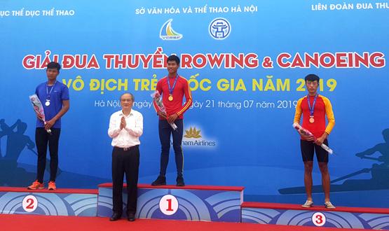 348 VĐV tranh tài tại Giải Đua thuyền rowing và canoeing Trẻ vô địch quốc gia