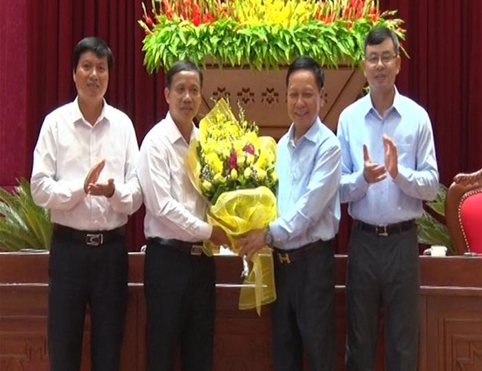 Đồng chí Bùi Văn Khánh được bầu làm Phó Bí thư Tỉnh ủy Hòa Bình