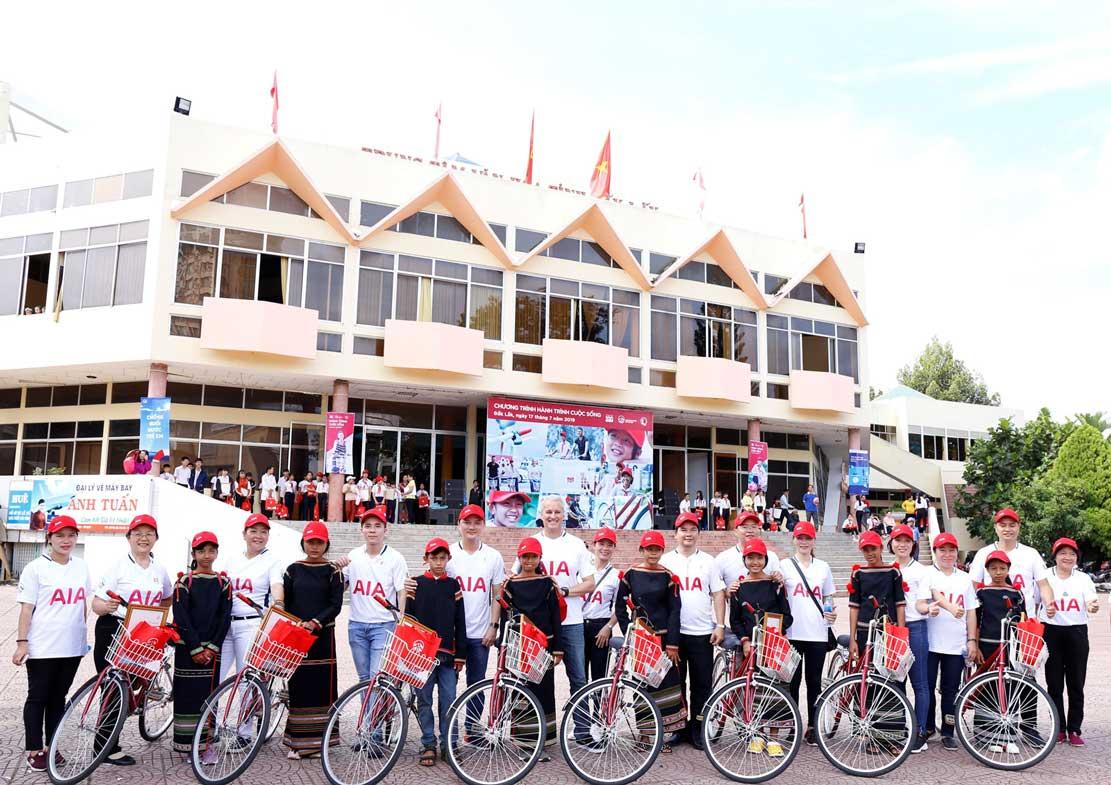 Gần 250 triệu đồng hỗ trợ trẻ em khó khăn tỉnh Đắk Lắk