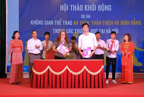 Tạo không gian thể thao an toàn, thân thiện và bình đẳng trong các trường học tại Hà Nội