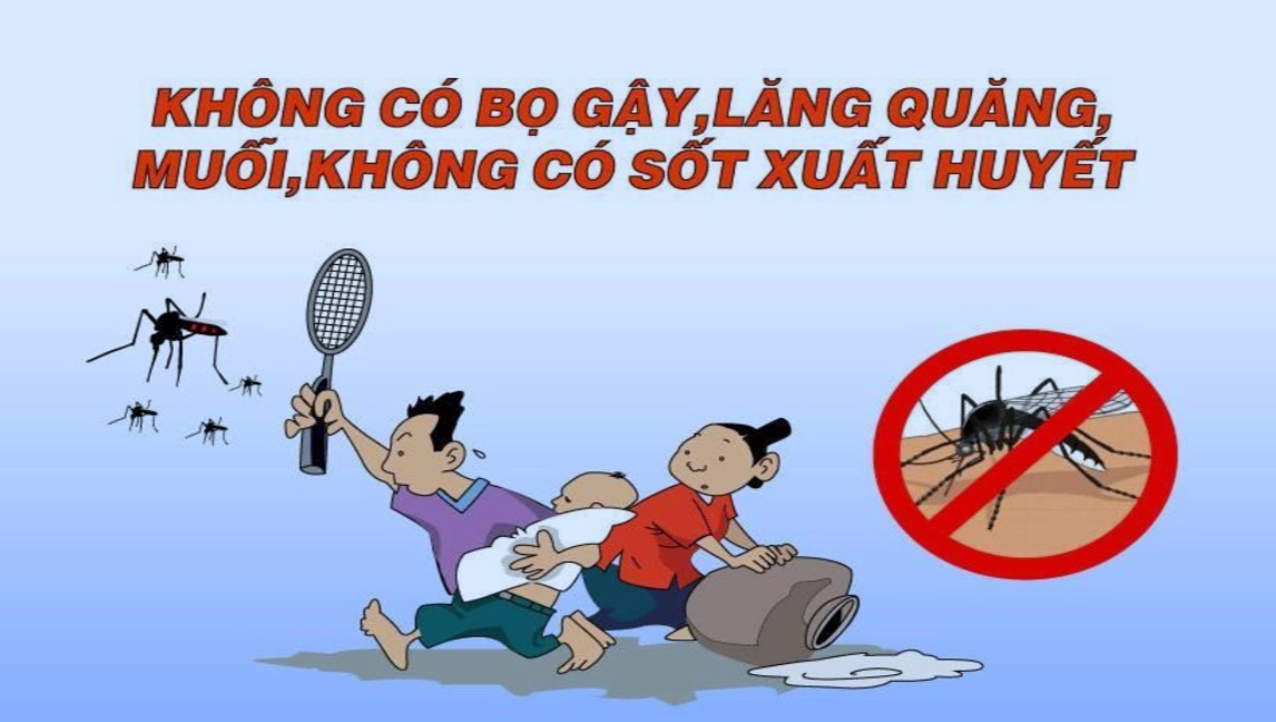 Người dân không nên chủ quan với sốt xuất huyết