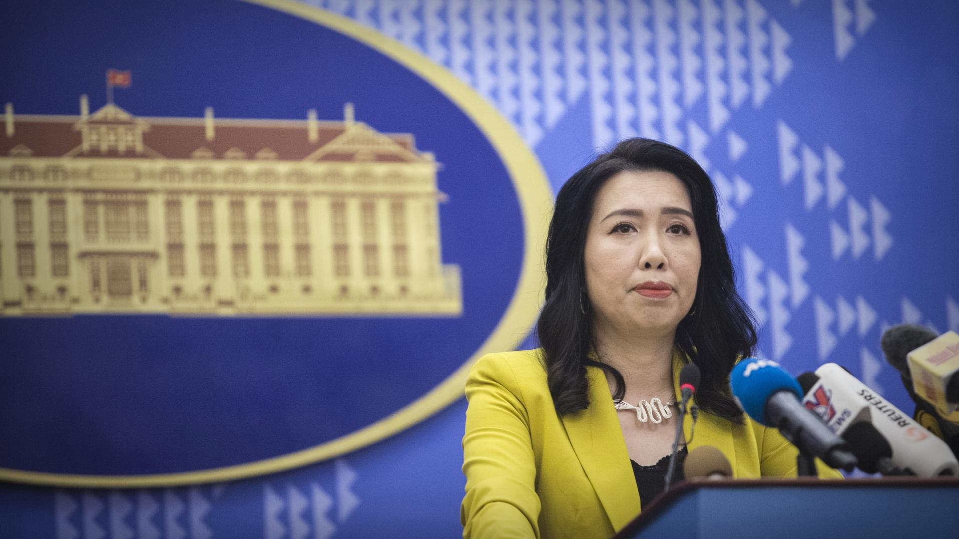 Việt Nam kiên quyết, kiên trì bảo vệ chủ quyền