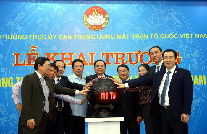 Ra mắt phiên bản mới Trang thông tin điện tử Mặt trận Tổ quốc Việt Nam
